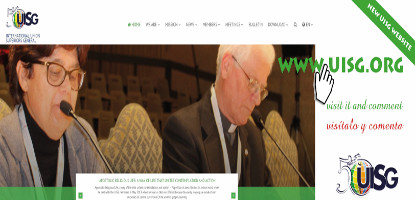 The new website of the UISG: the challenge of communication