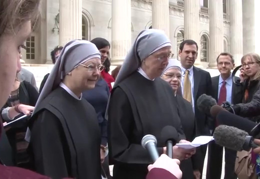 Little Sisters in court: Don't stop our ministry of serving the dying poor