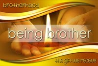 BEING BROTHER - BROTHERHOOD - THE GIFT WE RECEIVE - sin cintillo - SMALL - EN resize