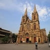 CHINA, Guangzhou.Sacred Heart cathedral